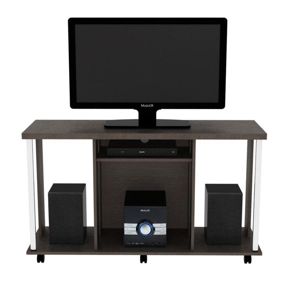 Mesa De Tv Colecci N Futura Wengue 120x67x40 Dofi