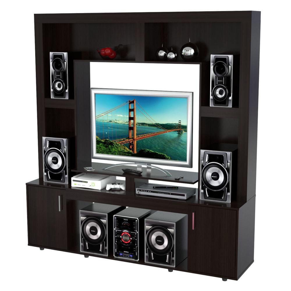 Centros de entretenimiento y muebles para la tv muebles for Muebles de pared