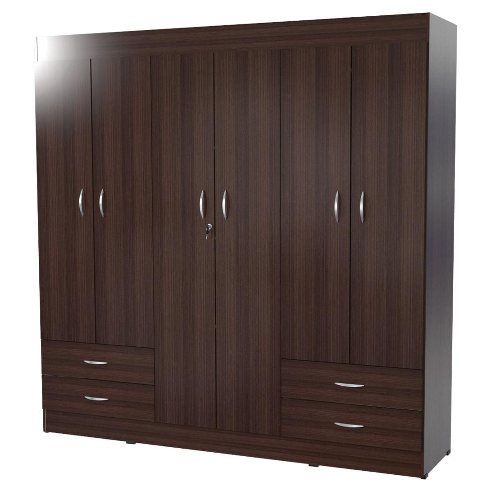Armario cerde o wengue 47x180x180cm inval for Catalogo de closets