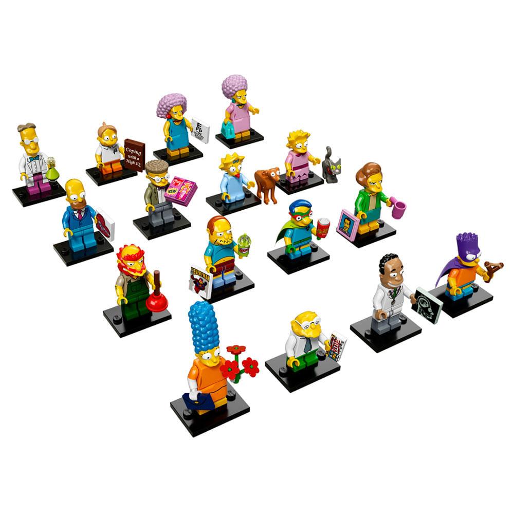 lego minifiguras the simpsons edicin