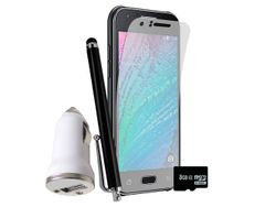 0 Kit Samsung J1 + Vidrio + Micro SD 8GB + Cargador Carro + Lapiz