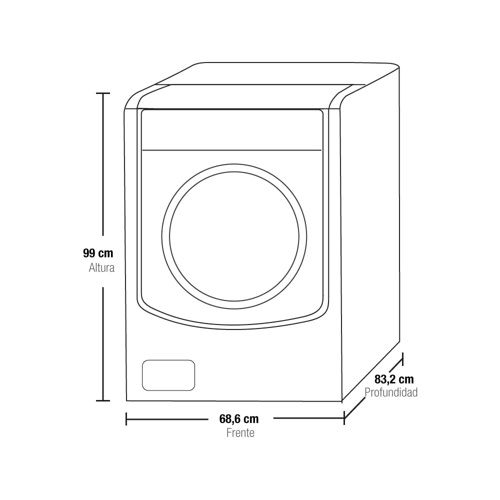 Lavadora Lg 22 Kg/49 Lbs WM5000HVA Twin Wash Acero