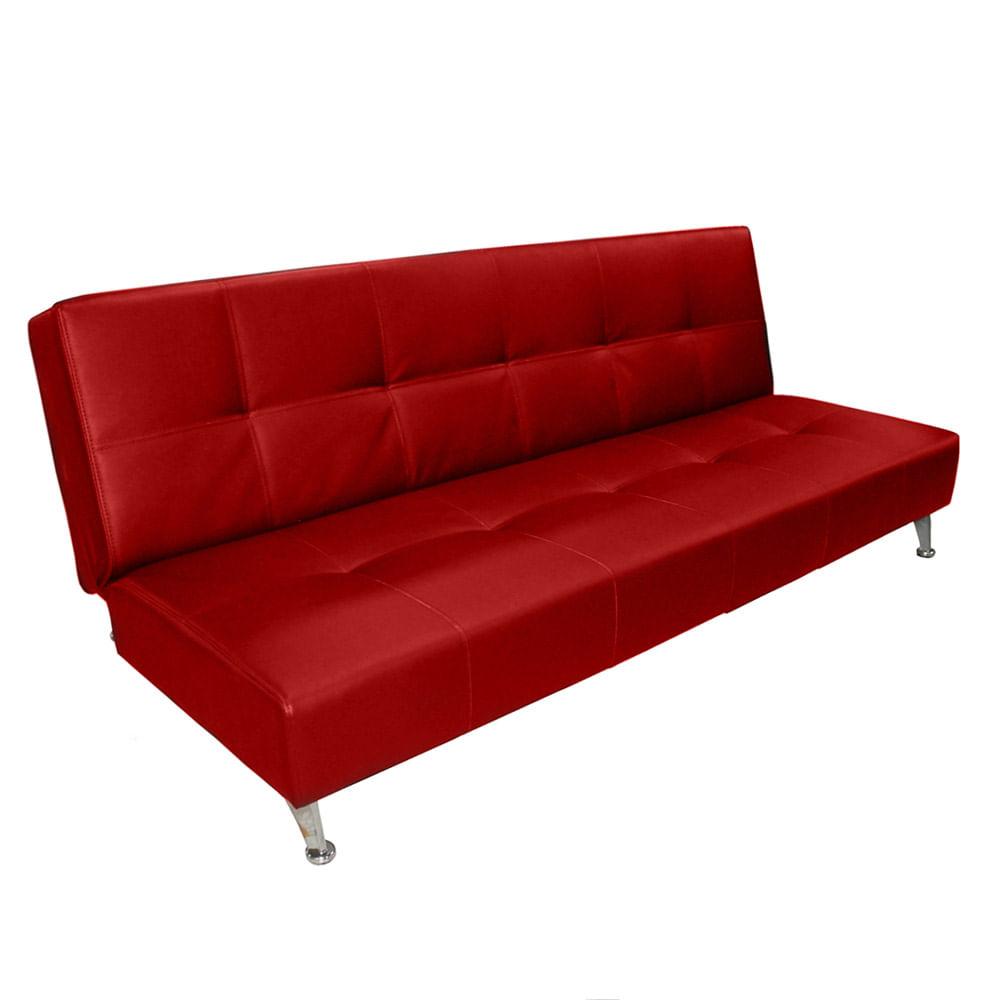 Sofa cama lisboa herraje jazz 180x72x84 cm rojo for Catalogos sofas precios